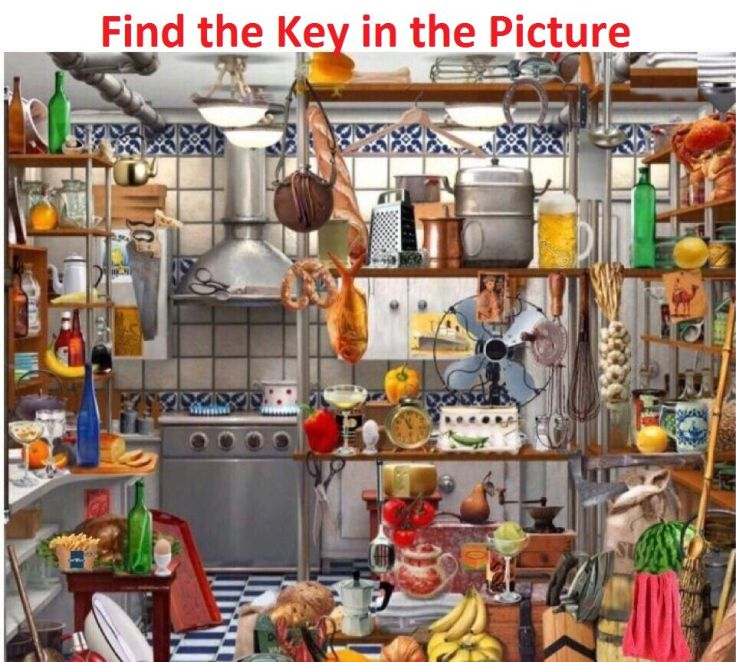 Find the Key in the Picture
